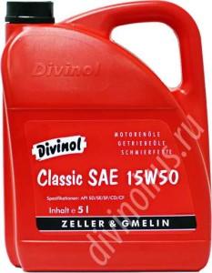 Divinol Classic SAE 15W-50