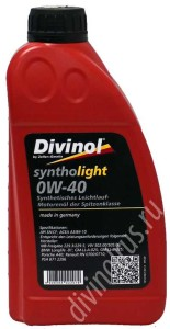 Divinol Syntholight 0W-40
