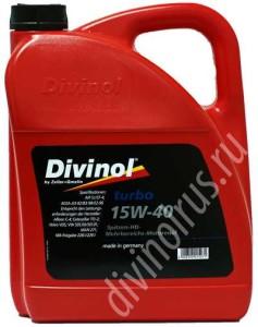 Divinol Turbo 15W-40