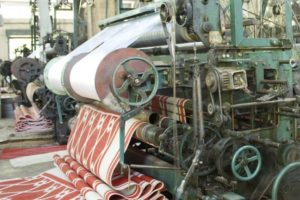 применение СОЖ Textol на фабрике