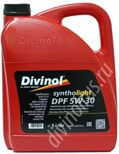 Divinol Syntholight DPF 5W30