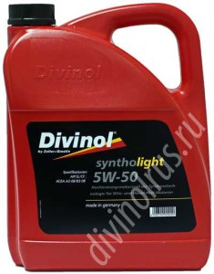 Divinol Syntholight 5W-50