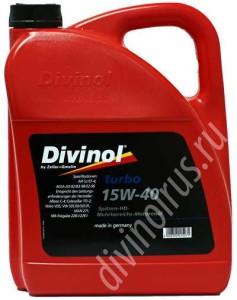 Divinol Turbo 15W-40
