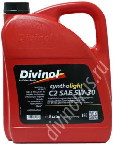 Divinol Syntholight C2 SAE 5W-30