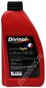 Divinol Syntholight LeMans 5W-30