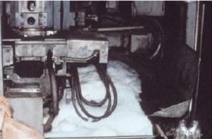 Появление пены в процессе металлообработки