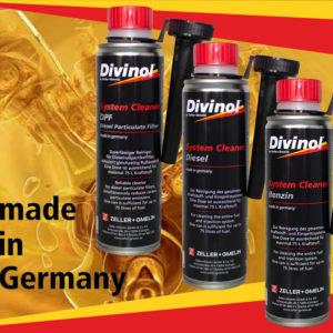 Присадки Divinol для большей чистоты двигателя